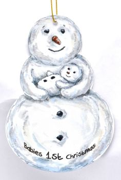 Snowman - Baby
