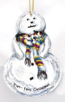 Snowman - Cat