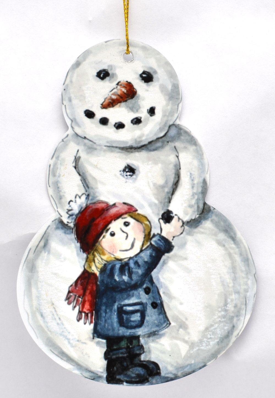 Snowman - Girl