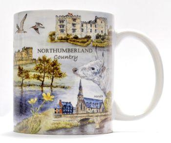 Mugs & Coasters-Northumberland Country