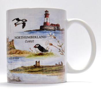 Mugs & Coasters-Northumberland Coast