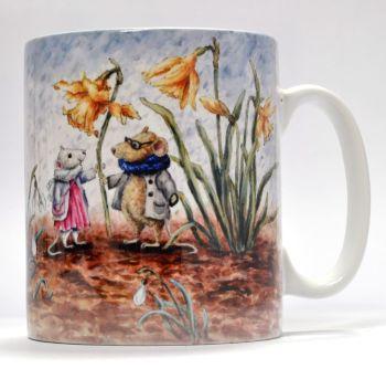 Mugs & Coasters - Rainy Day Mice