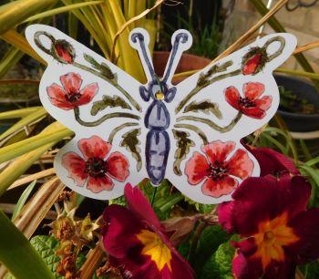 Butterflies - Poppies