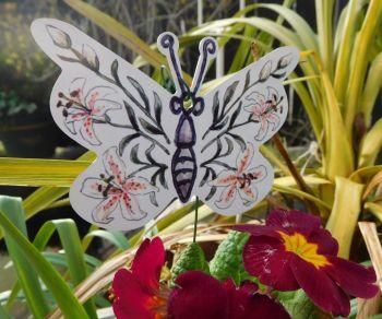 Butterflies - Lilies