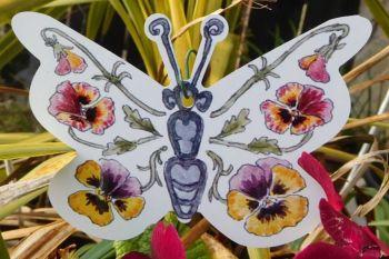 Butterflies - Pansy