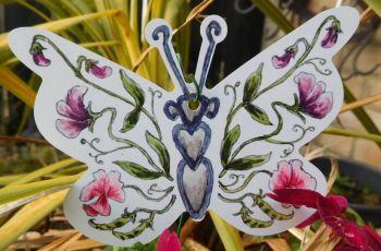 Butterflies - Sweetpeas