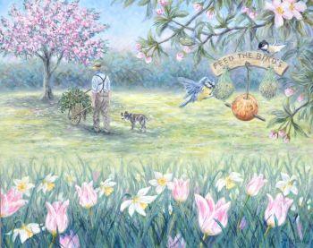 Original Painting - Spring Clean