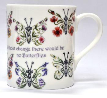 Mugs & Coasters - Butterfly Flowers