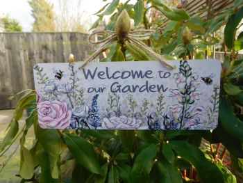 Garden Sign - Heartbreak Flowers