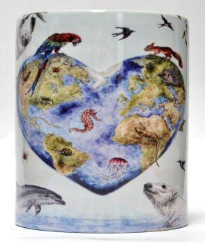 Mugs & Coasters - Reclaim the world