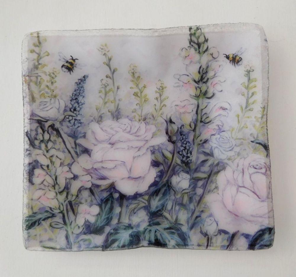 Tray/Dish - Heartbreak Flowers
