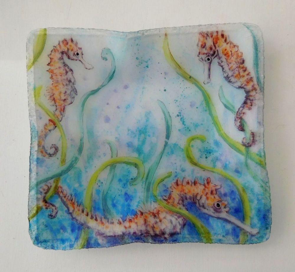 Tray/Dish - Seahorses