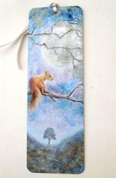 Bookmark - Moon Squirrel
