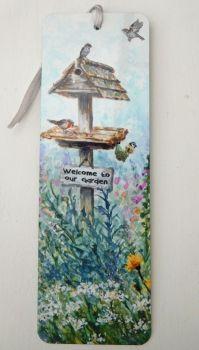 Bookmark - Summer Birdtable