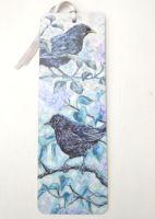 Bookmark - Blackbirds & Lilac