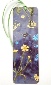 Bookmark - Dark Flowers