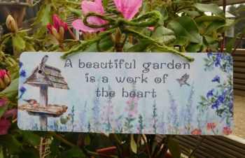 Garden Sign - Summer Birdtable