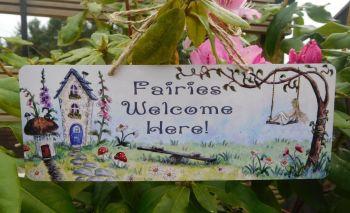 Garden Sign -Fairy Garden