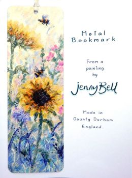 Bookmark - Sunflowers