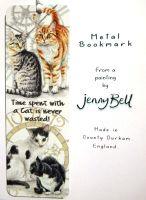 Bookmark - Cat Clock