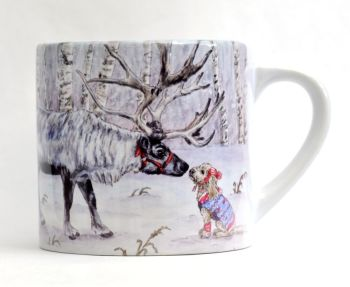 Child's Mug- Hello Deer
