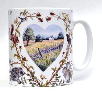 Mugs & Coasters - Country Heart