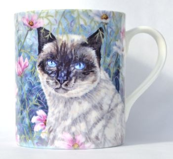 Mug or Coaster- Cosmos Cat