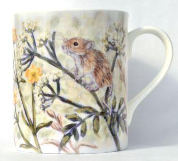 Mug or Coaster- Mice & Buttercups
