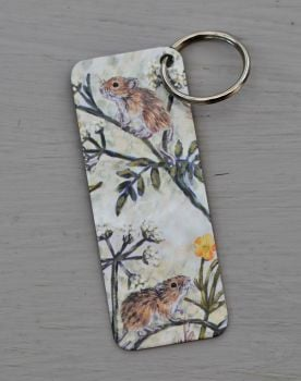 Bookmark or Keyring - Mice & Buttercups