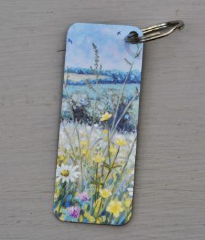 Bookmark or Keyring - June Meadow