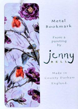 Bookmark or Keyring - Robin & Roses