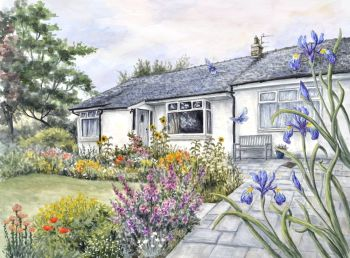 Commission an Original Water Colour Painting -  Paint my Home