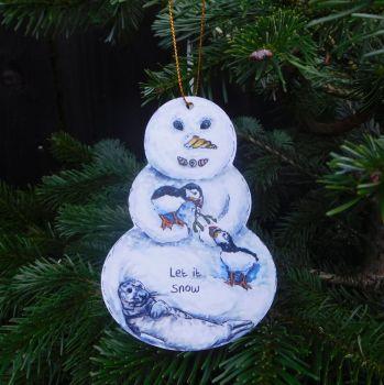Snowman - Seaside Snowman