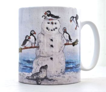 Mugs & Coasters- Puffin Perch