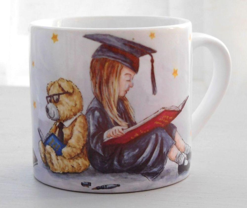 Child's Mug- Graduation Girl