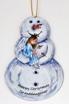 Snowman - Angel & Robins