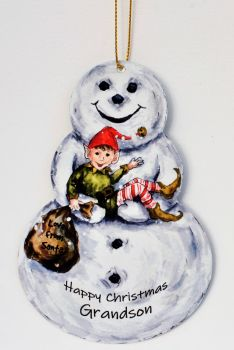 Snowman - Elf
