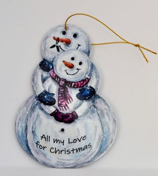 Snowman - Cuddles