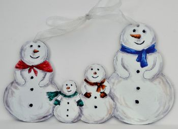 Snowman - Snowman Family