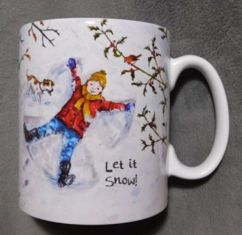 Mugs & Coasters- Snow Angel - Girl