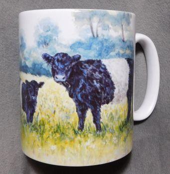Mug or Coaster- Belted Galloway