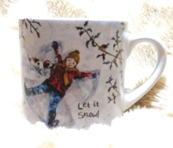 Child's Mug- Snow Angel - Girl