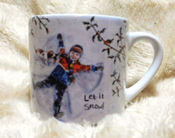 Child's Mug- Snow Angel - Boy