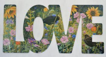 Word Art - Love - Tapestry Garden
