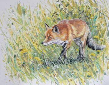 Original Paintings - On the Hunt