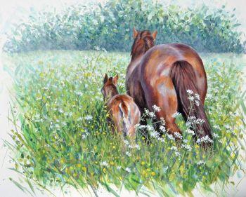 Original Paintings - Walk through fields of gold