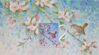 Wren & Pink Blossom