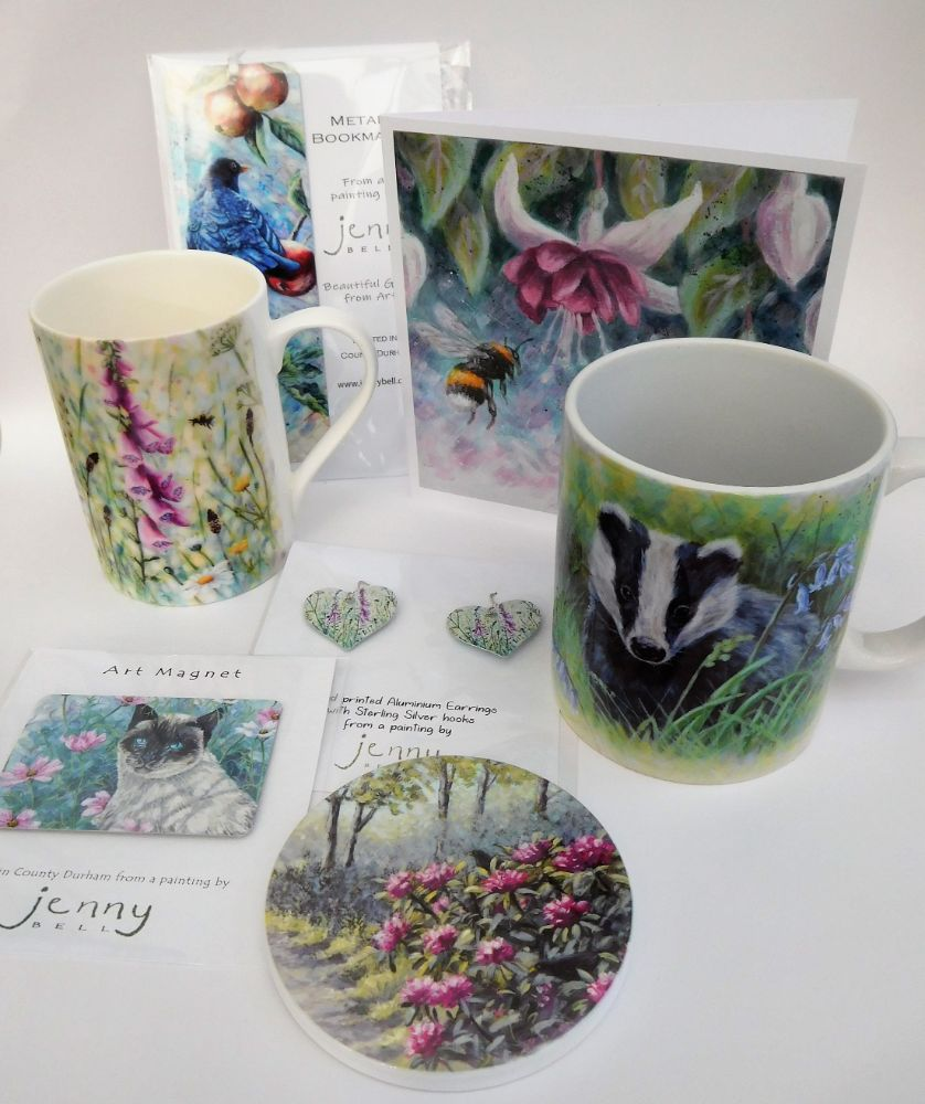 Cards, Mugs Coasters & more gifts to choose.