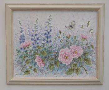 Original Paintings - Rose Dreams