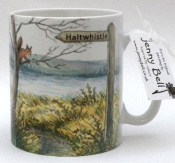 Mugs & Coasters-Red Squirrel Footpath